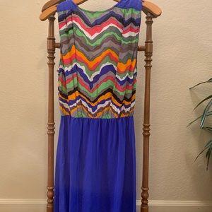 Petticoat Alley XS 100% silk patterned sundress